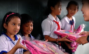 NashTech visited schools in Khanh Hoa after typhoon Damrey caused destruction