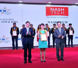 NashTech named 2019 Vietnam's 50+10 Leading IT companies